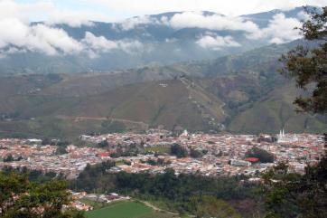 Vista de La Grita desde la Aldea de Tadea Estado Táchira