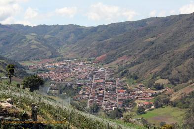 El Cobre Capital del Municipio Jose María Vargas Tachira